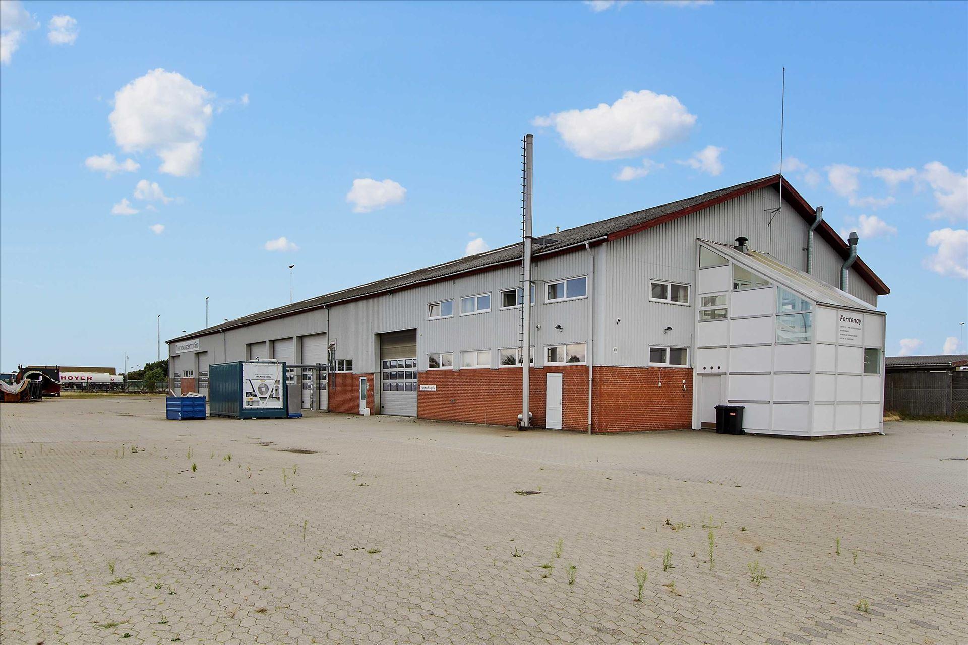 Lager/Produktion til Salg - Industrivej 10, 7000 Fredericia